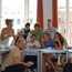 A Berlin College class - you learn German in international groups, with max 12 per group